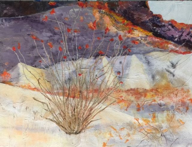 STEPPE FLOWERS (OCOTILLO FOR FAMILY)